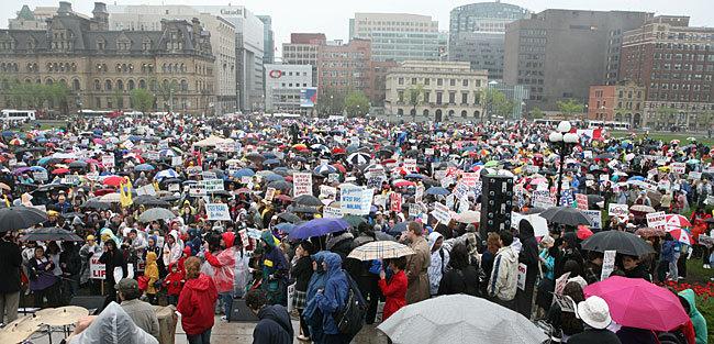 marche pour la vie ottawa 2009