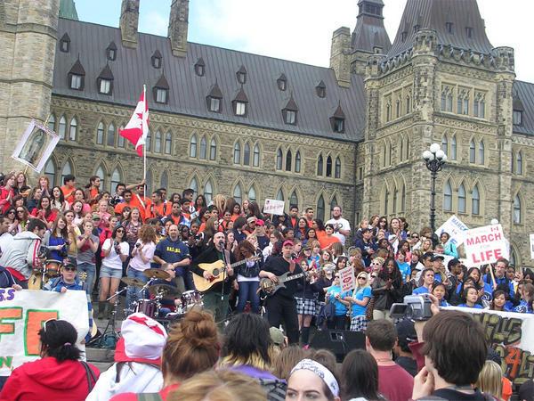 Marche pour la vie canadienne 2008