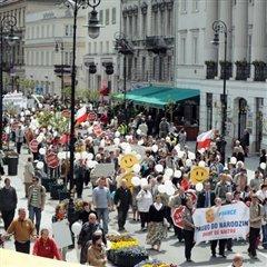 Marche pour la vie Varsovie 2008
