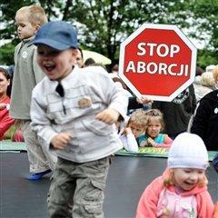 Marche pour la vie 2008 à Varsovie