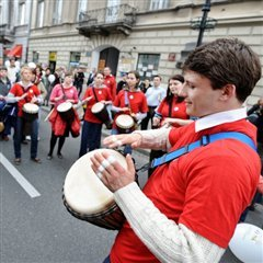 Marche pour la vie Varsovie