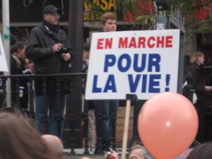 marche pour la vie paris 2009